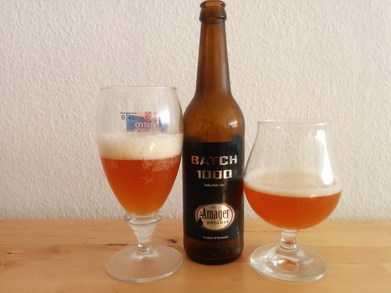 Amager Bryghus Batch 1000 - I glas og flaske