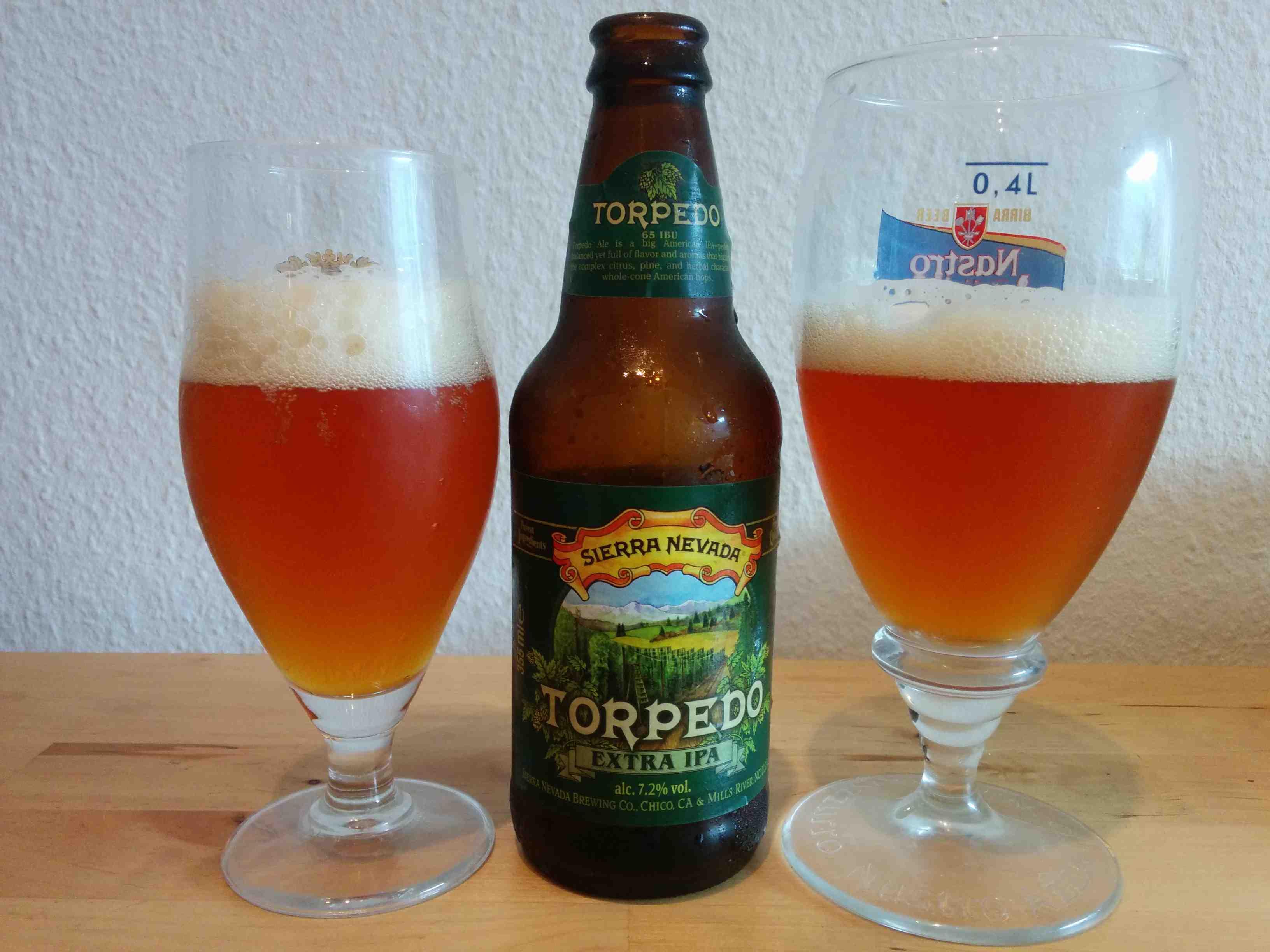 Sierra Nevada Torpedo extra IPA - I glas og flaske