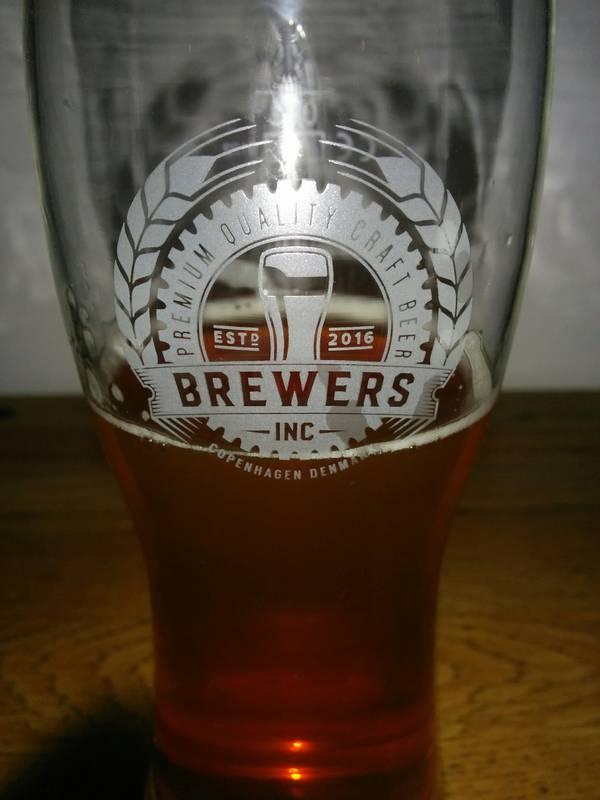 Brewers Inc Førstefødte med logo