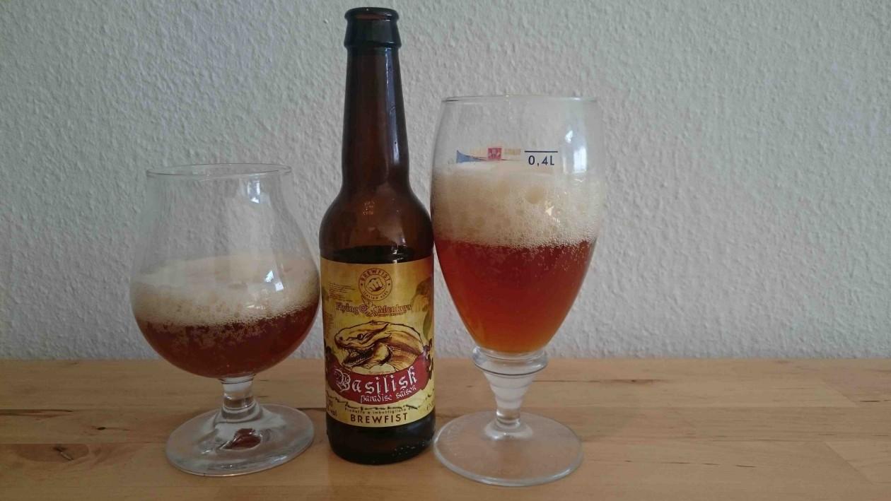 Brewfist Basilisk Paradise Saison - I glas og flaske