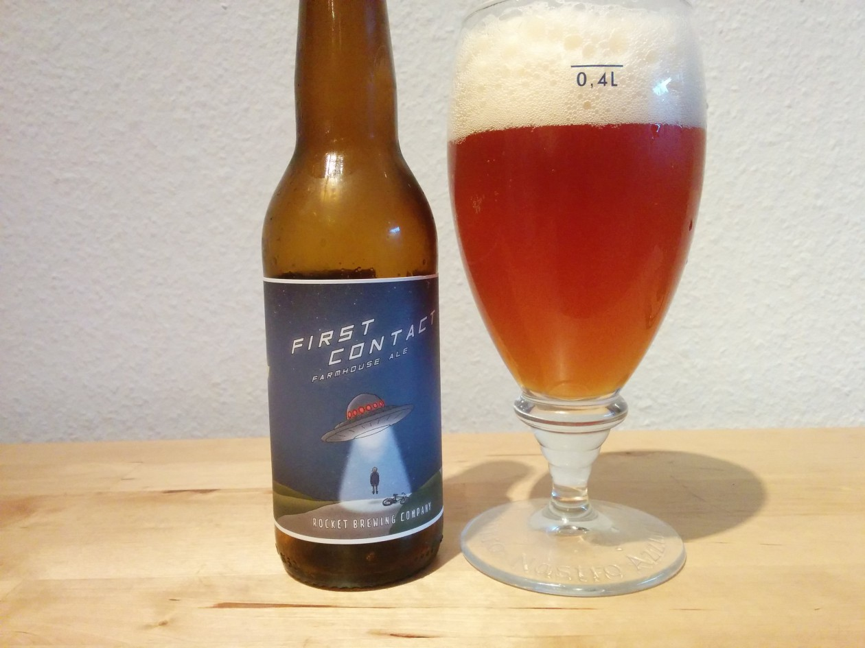 Rocket Brewing First Contact