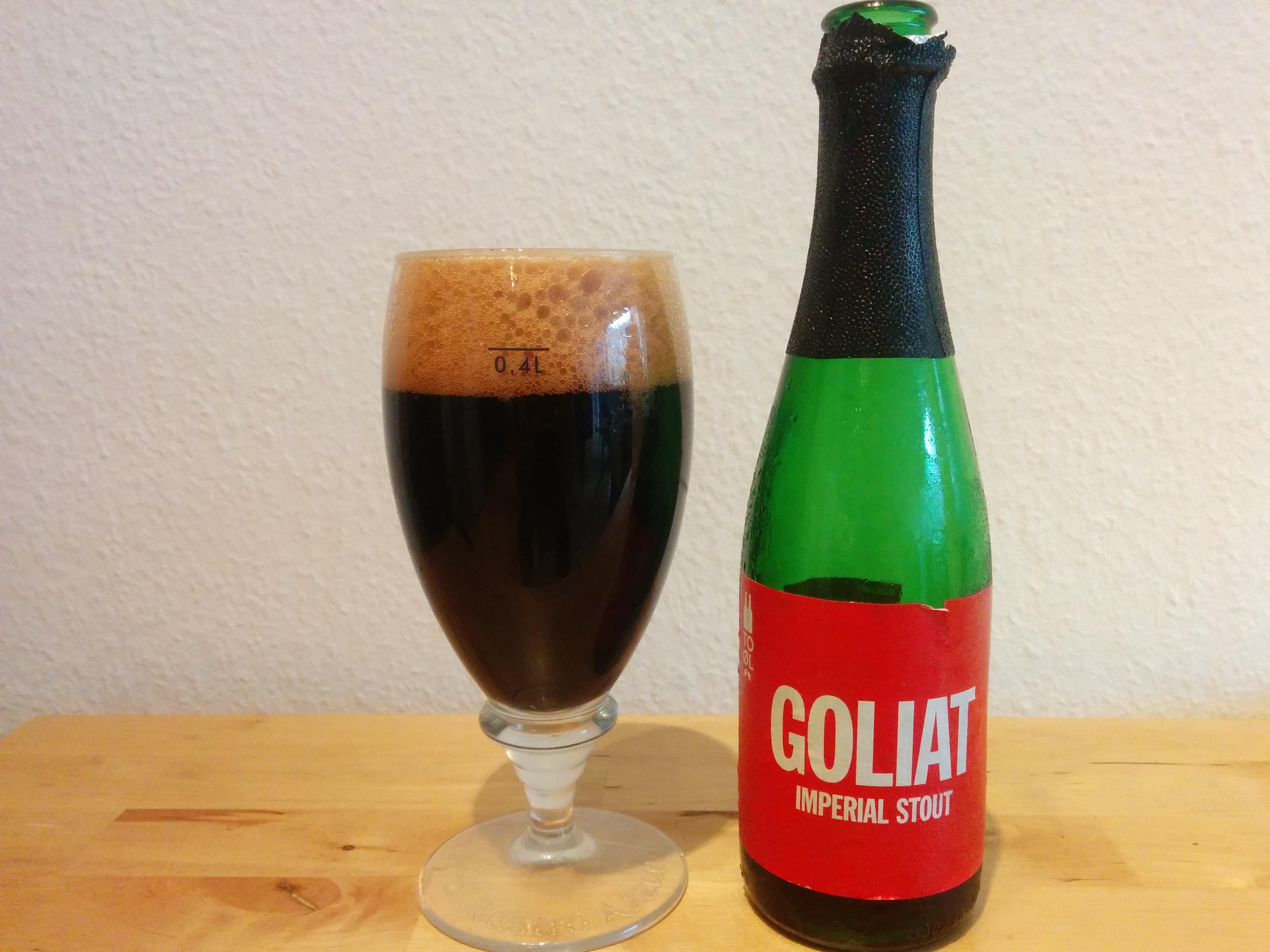 To Øl Goliat - I glas og flaske